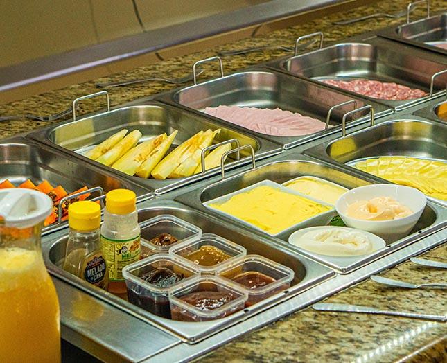 Foto buffet café da manhã